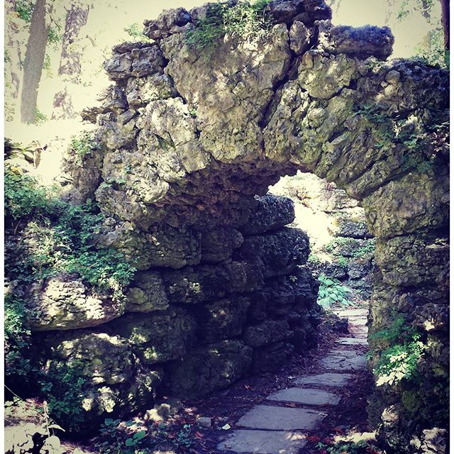 Enchanted path, Sonnenberg Gardens, Canandaigua, NY.
