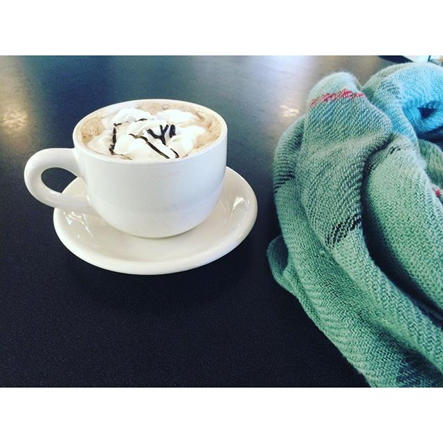 cashmere & hot chocolate