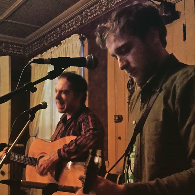 Bobby Henrie & Aaron Lipp pickin' at The Naples Hotel. @instagran_music