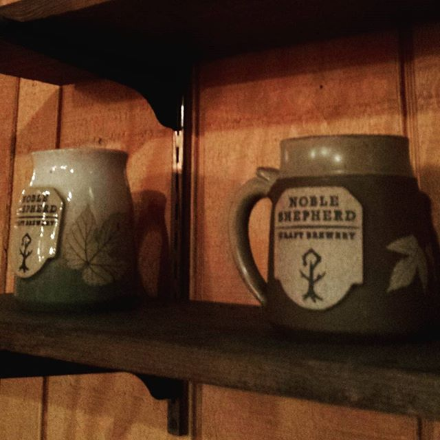 Noble Shepherd Craft Brewery meets the Wizard of Clay.