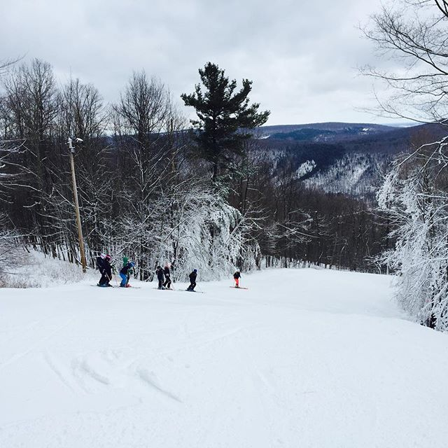 Great conditions at Bristol Mountain today.